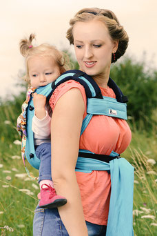 Wrap Conversion by Huckepack, Wrap Tai baby carrier