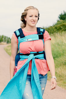 Huckepack Wrap Conversion, Wrap Tai baby carrier
