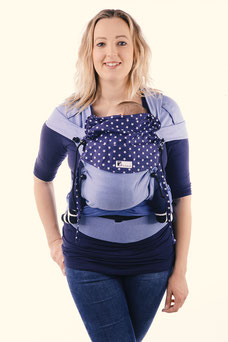 Huckepack Wrap Tai baby carrier by Huckepack, wrap con