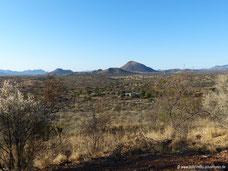 Blick von der Windhoek Mountain Lodge