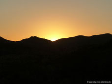 Windhoek Mountain Lodge - Sonnenuntergang