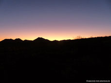 Windhoek Mountain Lodge - Sonnenuntergang