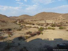 Umgebung von Kobo Kobo Hills