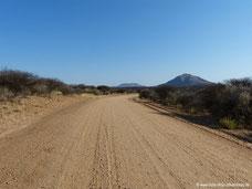 Einführungsfahrt südlich von Windhoek