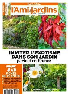 Rencontre, le Jardin de la Parmélie,Texte et photos Philippe Ferret