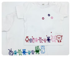 Namens-Shirt MONSTER-PARADE ab 20 €