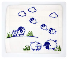 "Inidividualisierbarer Beulen-Tröster ""Happy sheep"" 10,00 €"