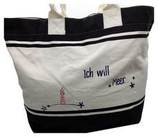 NEU: Deck Bag ICH WILL MEER!