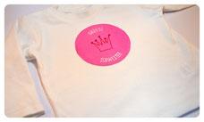 """Shirt """"Kleine Schwester""""/""""Große Schwester"""" mit Krone  ab 20€"""
