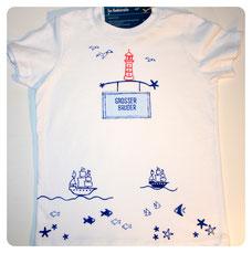 "Shirt ""Am Meer"" Kleine(r)/Große(r) Schwester/Bruder"" ab 23 €"
