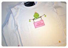 """Shirt Froschkönig """"Kleine Schwester""""/""""Große Schwester"""" ab 22 €"""