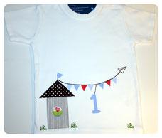 "Shirt ""Strandhütte"" ab 26 €"