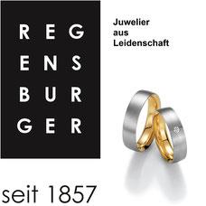 Juwelier Regensburger Traunstein + Waging, Schmuck, Uhren, Trauringe, Trachtenschmuck, Eheringe, Eigenart, Ringe, Ohrringe, Broschen, Colliers,