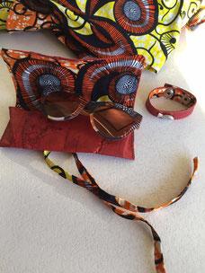 cuir de carpe des Dombes création Sylvie Berry