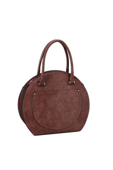 Sac rond David Jones vieux rose CM5897