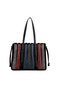 Sac accordéon David Jones noir CM5899