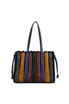 Sac accordéon David Jones bleu CM5899