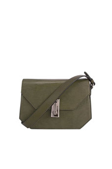 Sac bandoulière David Jones vert olive CM5923