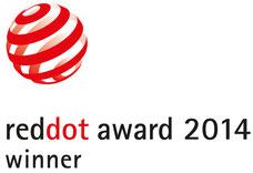 Red Dot Design Award Winner 2014