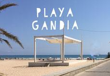 Playa Gandia, Spain, Foto: Birgitta Kuhlmey