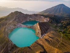 Kelimutu Vulkan Indonesien