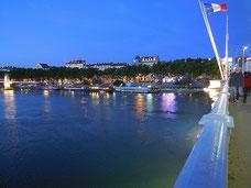 Le retour par le Pont Lafayette