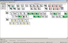 Netzwerk Übersicht Profibus mit Sensorbus PB-PA