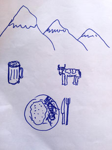 Petes Zeichnung