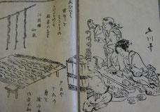 『漬物早指南』 干瓜の図