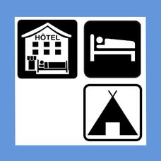 Hôtels-Campings-Chambres d'hôtes