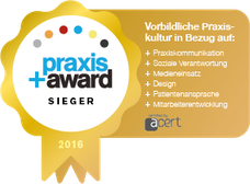 praxis +award Sieger (Gold)