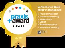 praxis +award Sieger (Gold)