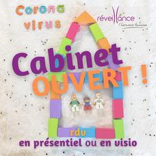 Le cabinet reste ouvert pendant le re-confinement ! Coaching & Sophrologie à Maurepas dans les Yvelines