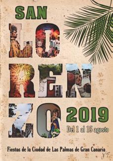 Fiestas de San Lorenzo en Las Palmas 2015 Cartel