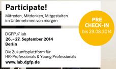 DGFP Lab: Participate!