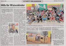 Im Januar 2016 ist in den Nürnberger Nachrichten ein schöner Artikel über unseren Verein erschienen