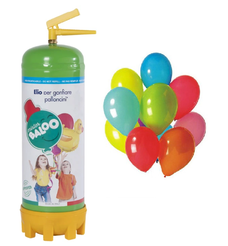 Bombole di elio per gonfiare dai 25 ai 50 palloncini in lattice inclusi nella confezione in omaggio