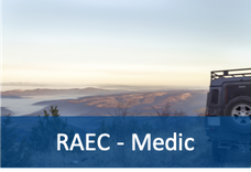 Remote Area Emergency Care (RAEC) - Medic