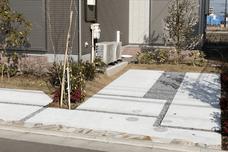 栃木市W様の外構工事・施工写真