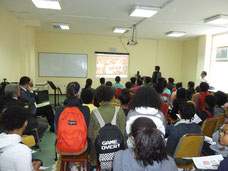 Seminar at Sandford International School at Ethiopia