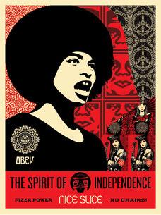 Shepard Fairey Spirit of Independence