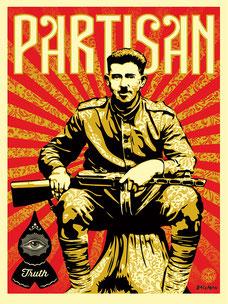 Shepard Fairey Partisan