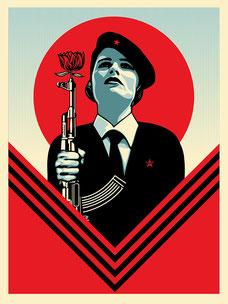 Shepard Fairey Peace Guard 2