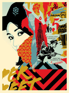 Shepard Fairey Drink Crude Oil
