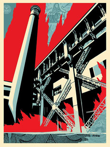 Shepard Fairey Fossil Factory