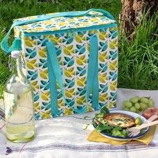 REX London Picknicktas Love Birds 500ml-picknicktas van gerecycled plastic met een print van vrolijk gekleurde vogels