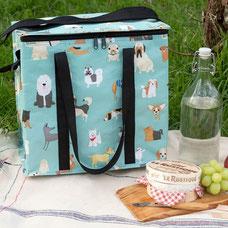 REX London Picknicktas Best In Show 500ml-picknicktas van gerecycled plastic met hondenprint