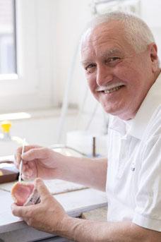 Werner Hönigschmied bei Zahnarzt Hugo Teister in Gießen