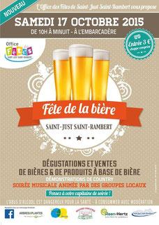 Fête de la bière Saint Just Saint Rambert