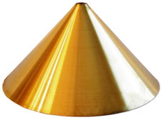 paralume #vintage #stile industriale #lampada #ottone #campana #pub #birreria